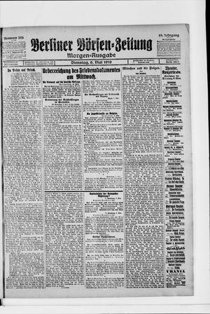 Berliner Börsen-Zeitung vom 06.05.1919
