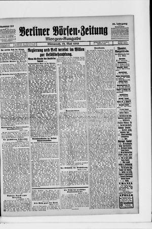 Berliner Börsen-Zeitung vom 14.05.1919