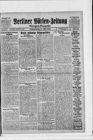 Berliner Börsen-Zeitung vom 15.05.1919