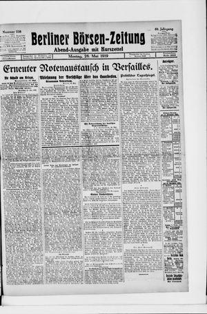 Berliner Börsen-Zeitung vom 26.05.1919