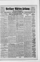 Berliner Börsen-Zeitung (18.10.1919)