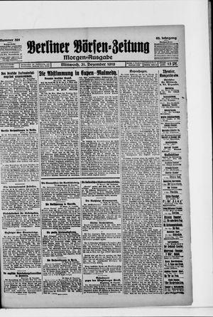Berliner Börsen-Zeitung vom 31.12.1919