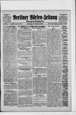 Berliner Börsen-Zeitung on Jan 9, 1920