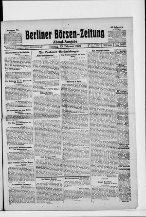 Berliner Börsen-Zeitung vom 13.02.1920