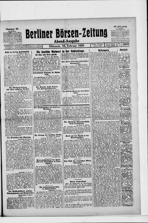 Berliner Börsen-Zeitung vom 25.02.1920