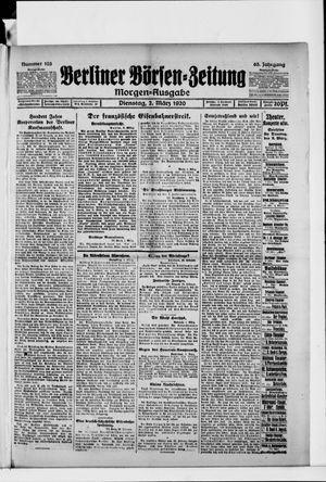 Berliner Börsen-Zeitung vom 02.03.1920