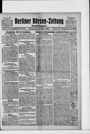 Berliner Börsen-Zeitung vom 04.03.1920