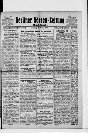 Berliner Börsen-Zeitung vom 05.03.1920