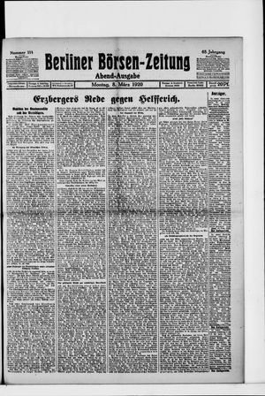 Berliner Börsen-Zeitung vom 08.03.1920