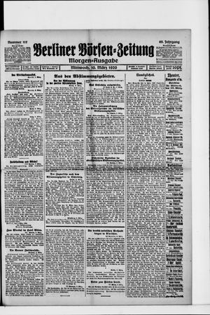 Berliner Börsen-Zeitung vom 10.03.1920