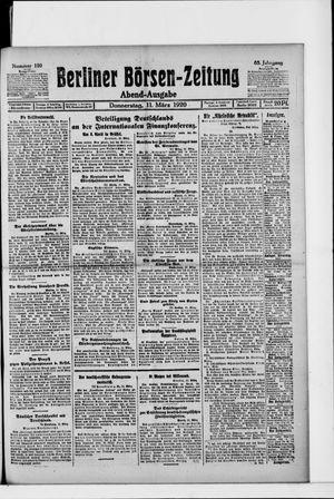 Berliner Börsen-Zeitung vom 11.03.1920