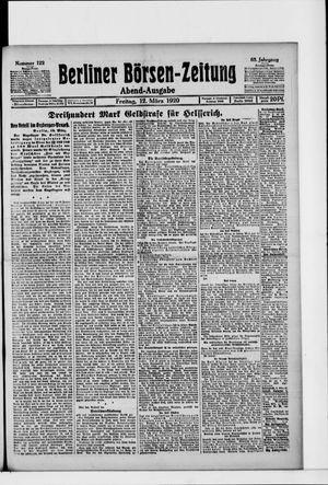 Berliner Börsen-Zeitung vom 12.03.1920