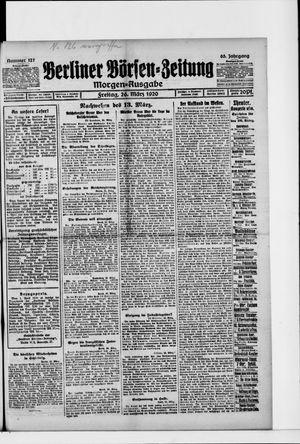 Berliner Börsen-Zeitung vom 26.03.1920
