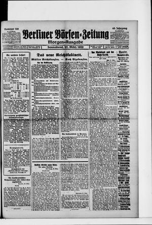 Berliner Börsen-Zeitung vom 27.03.1920