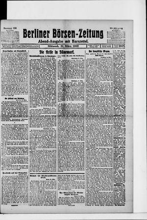 Berliner Börsen-Zeitung vom 31.03.1920