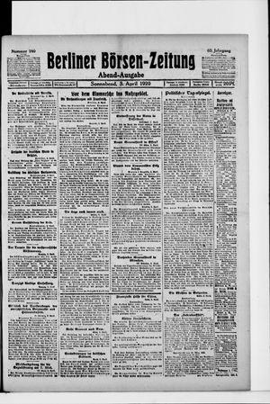 Berliner Börsen-Zeitung vom 03.04.1920