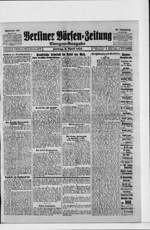 Berliner Börsen-Zeitung vom 09.04.1920