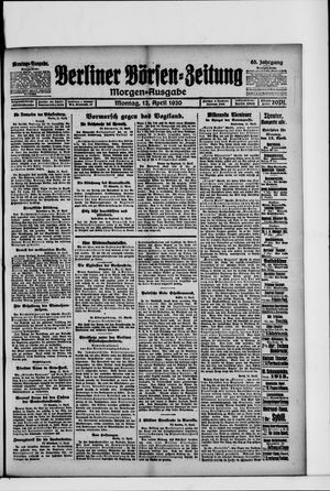 Berliner Börsen-Zeitung vom 12.04.1920