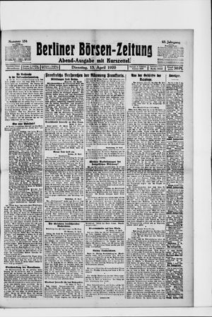 Berliner Börsen-Zeitung vom 13.04.1920
