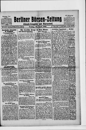 Berliner Börsen-Zeitung vom 23.04.1920