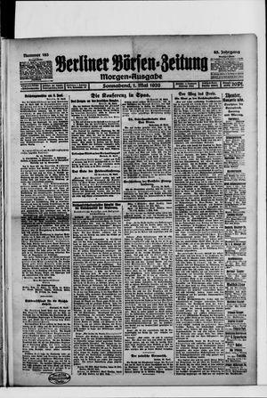 Berliner Börsen-Zeitung vom 01.05.1920
