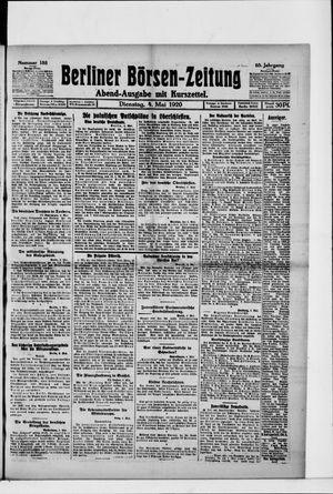 Berliner Börsen-Zeitung vom 04.05.1920