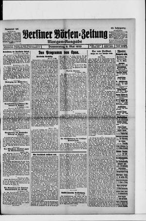 Berliner Börsen-Zeitung vom 06.05.1920