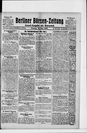 Berliner Börsen-Zeitung vom 10.05.1920
