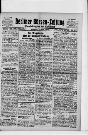 Berliner Börsen-Zeitung on May 12, 1920