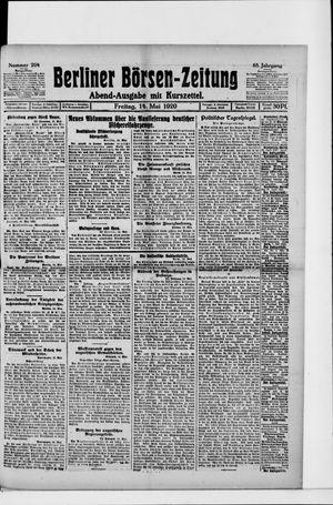Berliner Börsen-Zeitung vom 14.05.1920