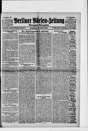 Berliner Börsen-Zeitung vom 16.05.1920