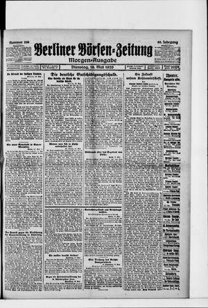 Berliner Börsen-Zeitung vom 18.05.1920
