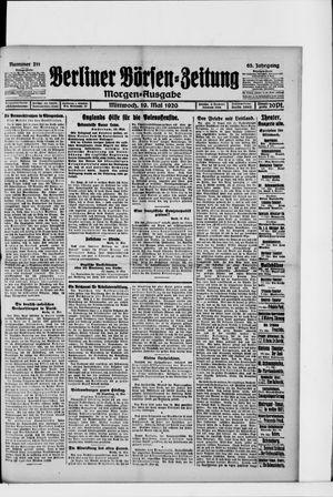Berliner Börsen-Zeitung on May 19, 1920