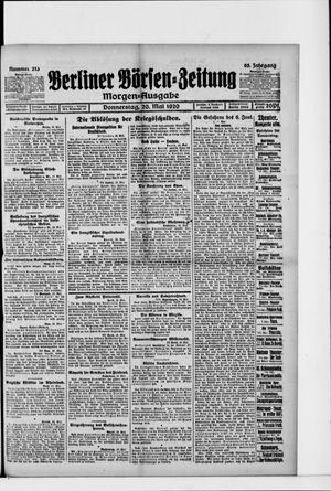 Berliner Börsen-Zeitung vom 20.05.1920