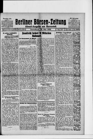 Berliner Börsen-Zeitung vom 29.05.1920
