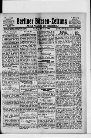 Berliner Börsen-Zeitung vom 31.05.1920