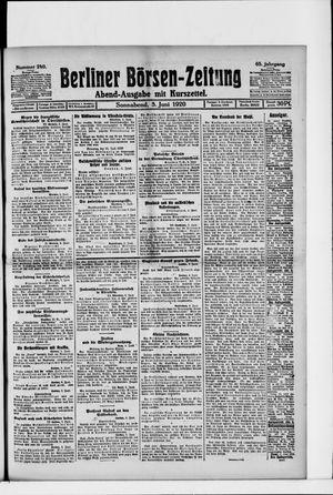Berliner Börsen-Zeitung vom 05.06.1920