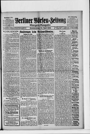 Berliner Börsen-Zeitung on Jun 24, 1920