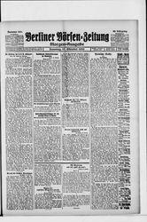 Berliner Börsen-Zeitung (17.10.1920)