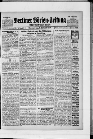 Berliner Börsen-Zeitung vom 06.01.1921