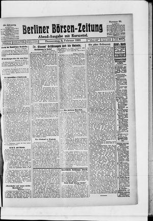 Berliner Börsen-Zeitung vom 03.02.1921