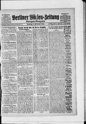 Berliner Börsen-Zeitung vom 04.02.1921