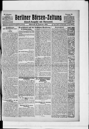 Berliner Börsen-Zeitung vom 09.02.1921