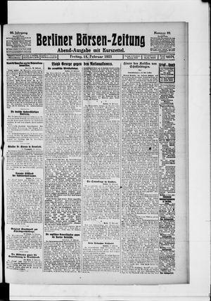 Berliner Börsen-Zeitung vom 18.02.1921