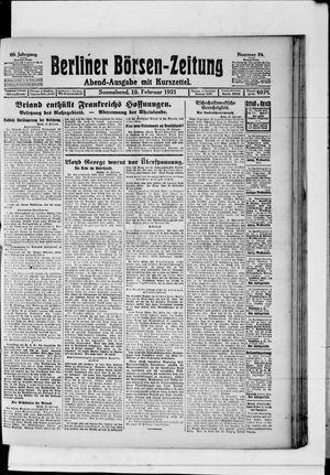 Berliner Börsen-Zeitung vom 19.02.1921