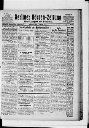 Berliner Börsen-Zeitung vom 21.02.1921