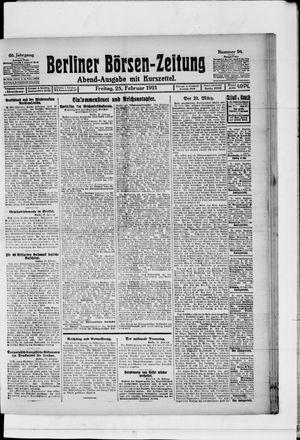 Berliner Börsen-Zeitung vom 25.02.1921