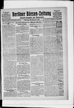 Berliner Börsen-Zeitung vom 28.02.1921