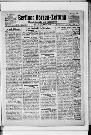 Berliner Börsen-Zeitung vom 01.03.1921