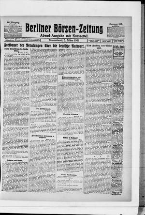 Berliner Börsen-Zeitung vom 05.03.1921